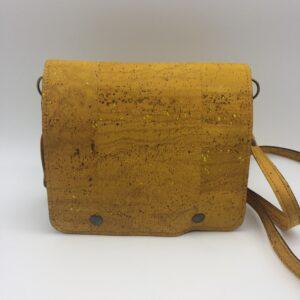 sac en liege, jaune, modèle Félicie
