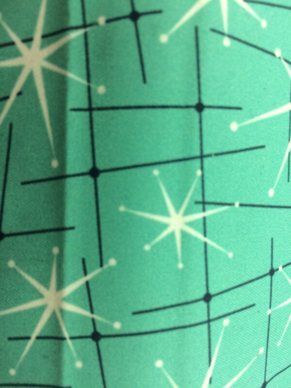 création tissu original, motif étoile